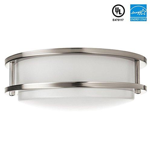 New 7 Round Led Flush Mount Ceiling Light 4000k Kitchen: SHINE HAI LED Flush Mount Ceiling Light, 11 Inch 14W 100W