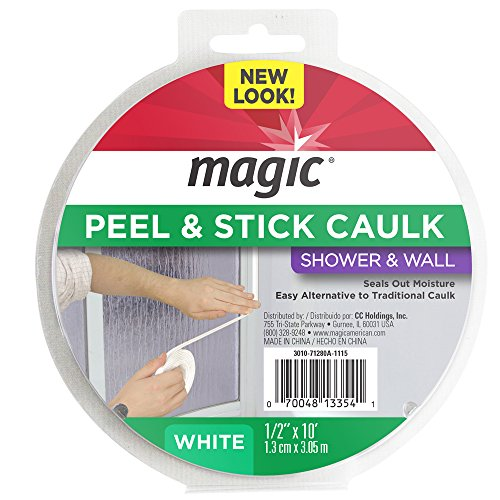 Magic Tub Floor Peel And Stick Caulk 1 1 4 X 5 Trevse