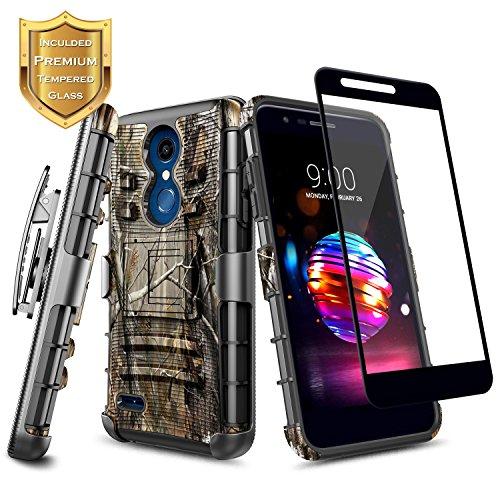LG K30 Case, LG Premier Pro LTE, LG K10 2018 w/Full Coverage