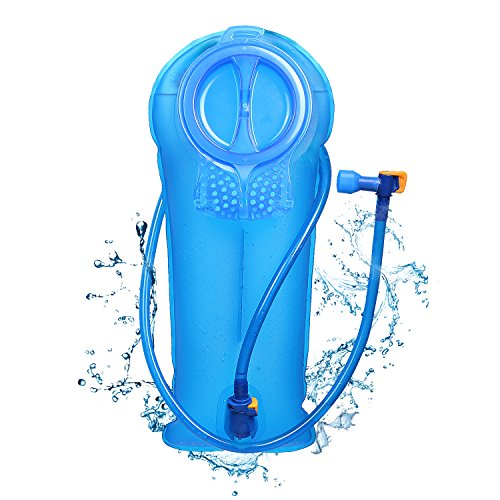 Water Bladder Hiking Camping Cycling Running Hydration Pack 2L W// Large Backpack